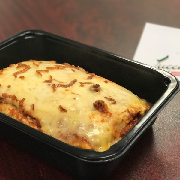 lasagna iin a to-go container